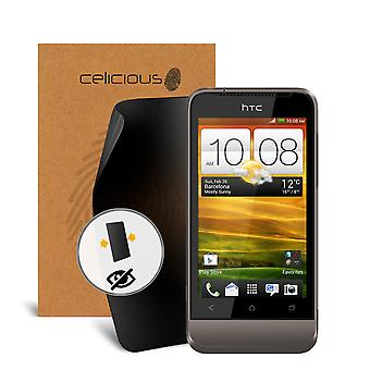 Celicious Privacy 2-Wege Anti-Spy Filter Screen Protector Film kompatibel mit HTC ein V