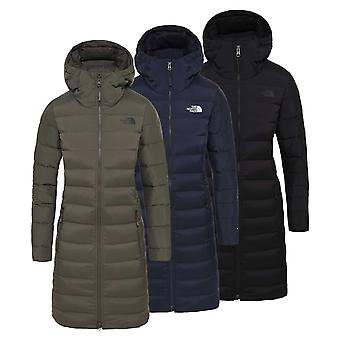 The North Face dames parka met stretch dons
