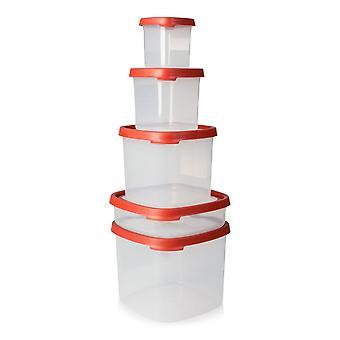 Wham Storage Seal It Square 5 Piece Set