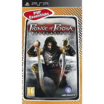 Prince of Persia Revelations Essentials Edition PSP Game