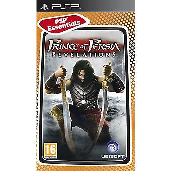 Prins van Perzië Revelations Essentials Edition PSP Game