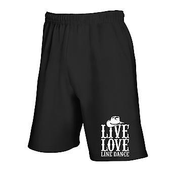 Pantaloncini tuta nero gen0277 live love