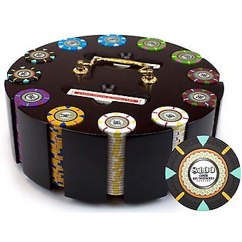 300Ct Claysmith Gaming 'The Mint' Chip Set in Carousel