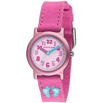 JACQUES FAREL Eco Kids Wristwatch Analog Quartz Girl ORG 2222 Butterfly