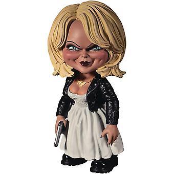 Bride of Chucky Deluxe Figur Tiffany Mezco Designer Series aus Kunststoff, in Geschenkverpackung. Hersteller: Mezco Toyz.
