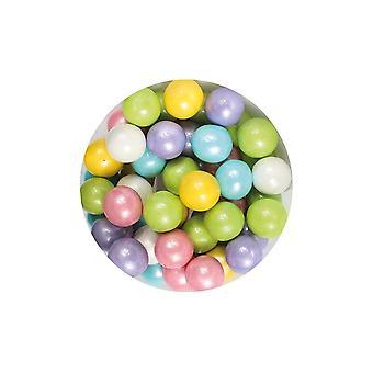 Paarse cupcakes 10mm parels-Rainbow-80g