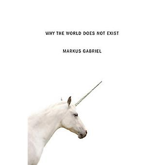 Why the World Does Not Exist by Markus Gabriel