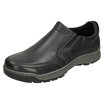 Mens Hush Puppies Slip On Shoes Jasper DH16391