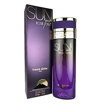 Sun java rose oud for women by franck olivier eau de parfum natural spray 2.5 oz