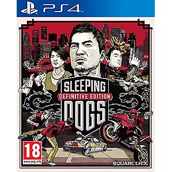 Sleeping Dogs Definitive Edition (PS4) - New