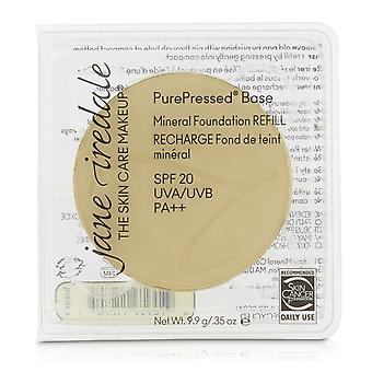 Pure geperste basis minerale foundation refill spf 20 bisque 208704 9.9g/0.35oz