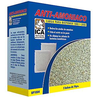 Ica Ammonia Charge Biopower1000 (Fish , Filters & Water Pumps , Filter Sponge/Foam)
