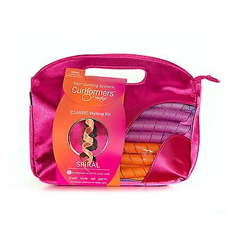 Curlformers Styling Kit - Classic Spiral Curls Extra Long