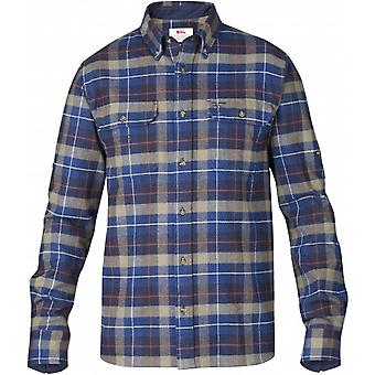 Fjallraven Singi Heavy Flannel Shirt - Navy