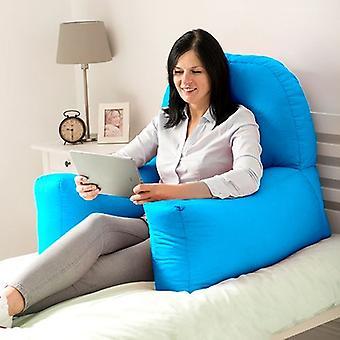 Muuttaminen Sofas | Puuvilla Twill & Chloe & Bean Bag Back Rest Reading Tyyny (Turkoosi)