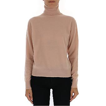 Laneus Mgd1252cc15rosa Women's Nude Wool Sweater