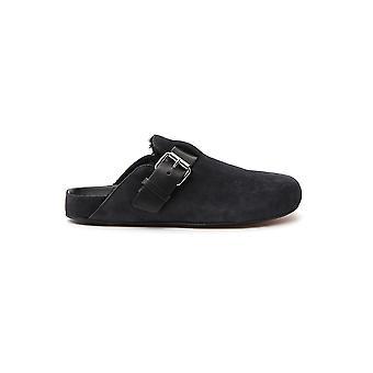 Isabel Marant Sd024419a042s02fk Women's Black Suede Sandals