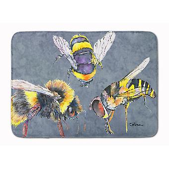 Bee Bees Times Three Machine Washable Memory Foam Mat