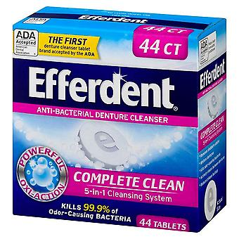 Efferdent original tablet, mint, 44 ea