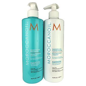 Moroccanoil tasoitus shampoo & hoitoaine duo 16.9 oz