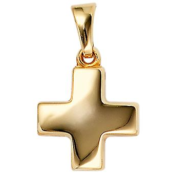 Women's Pendant Cross 333 Gold Yellow Gold Cross Pendant Gold Cross