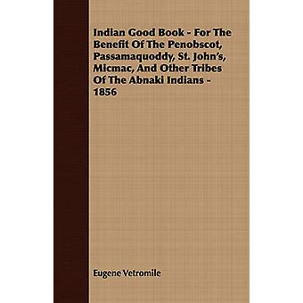 Indian Good Book  For The Benefit Of The Penobscot Passamaquoddy St. Johns Micmac And Other Tribes Of The Abnaki Indians  1856 by Vetromile & Eugene
