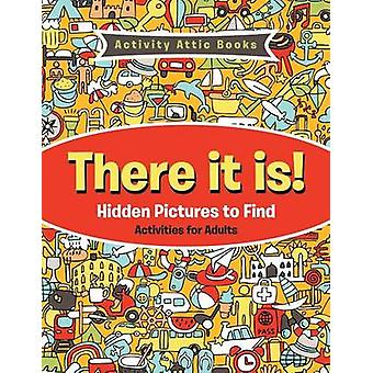 There It Is Hidden Pictures to Find Activities for Adults by Activity Attic Books
