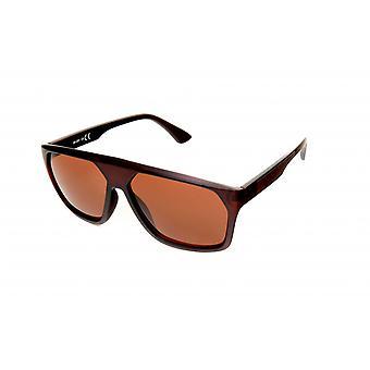 Solglasögon Rektangulära mäns glasögon Brown / bordeaux (20-201)