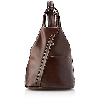All-Fashion Chicca Cbc18880gf22 - Unisex Backpack Adult - Brown (Moor's Head) - 13x32x11cm (W x H x L)