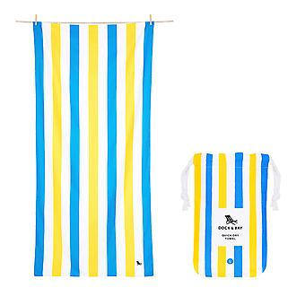 Dock & bay quick dry beach towel - summer - sandy toes