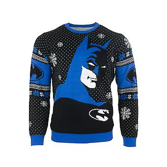 Officiële Batman In The Shadows Christmas Jumper / Ugly Sweater