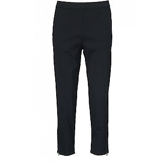 Masai Clothing Padme Black Cropped Trousers