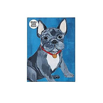 Jigsaw Puzzles Dog French Bulldog Party Fun Games 100 Pieces