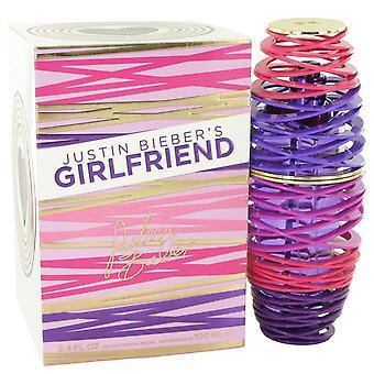 Girlfriend Eau De Parfum Spray By Justin Bieber 3.4 oz Eau De Parfum Spray