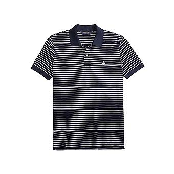 Brooks Brothers Men's Striped Slim Fit Polo Shirt