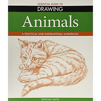 Essential Guide to Drawing - Animals by Duncan Smith - 9781788888998 B
