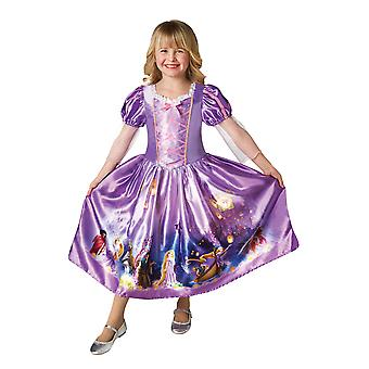Girls Rapunzel Costume - Disney