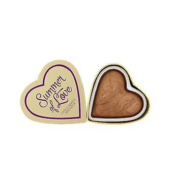 Make-up revolutie Blushing Hearts-liefde hete zomer bronzer