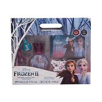 FRAGRANCES FOR CHILDREN - Frozen II SET EDT 50 ml + nail polish 2 x 5 ml + cosmetic bag - 50ML