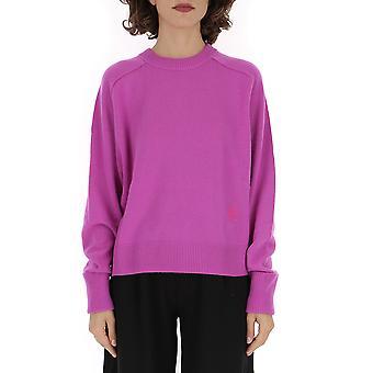 Chloé Chc19amp3550051w Women's Fuchsia Cashmere Sweater