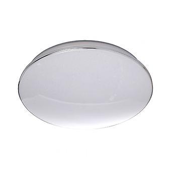 Techno Silver Ceiling Lamp Diameter 46 Cm