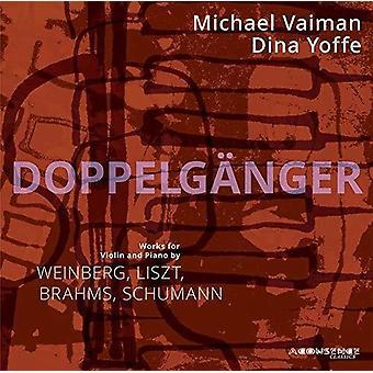 Brahms / Vaiman / Yoffe - Dubbelgångare [CD] USA import