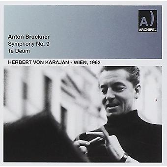 ブルックナーの交響曲第 9 ・ テ ・ デウム [CD] アメリカ インポートします。