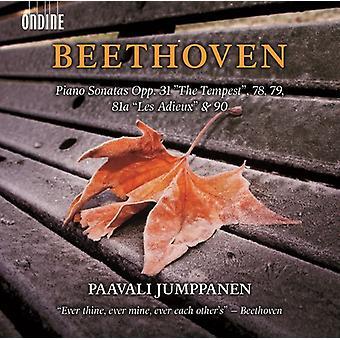 Beethoven / Jumppanen, Paavali - Piano Sonatas Opp. 31 the Tempest 78 79 [CD] USA import