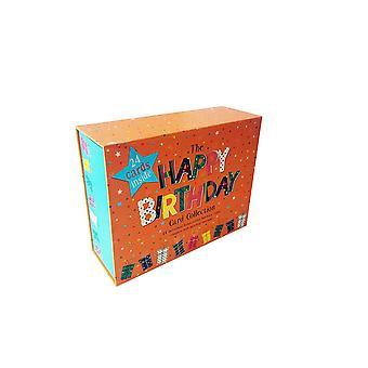 Happy birthday 24 piece greeting cards