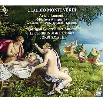 C. Monteverdi - Monteverdi: Arie E Lamenti; Madrigali Guerrieri Et Amorosi [SACD] USA import