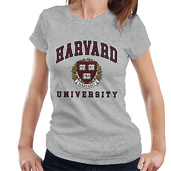 Harvard University Dark Red Design Women's T-Shirt