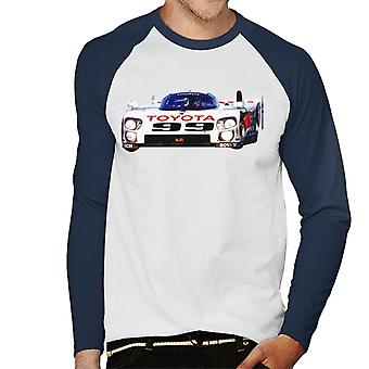 Motorsport Images Juan Manuel Fangio II Eagle MkIII Toyota Men-apos;s Baseball Long Sleeved T-Shirt