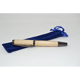 Holz Füllfeder Füllfer Pen mit Schraubkappe Kugelschreiber pen Ahorn Handarbeit Schreibgerät Geschenk Geschenkidee Unikat handmade
