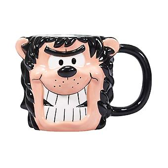 Beano 3D Shaped Mug Gnasher new Official Boxed